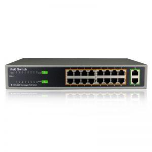 سوئیچ شبکه 16 پورت لایه 2 برند NKTech مدل PSE1816G